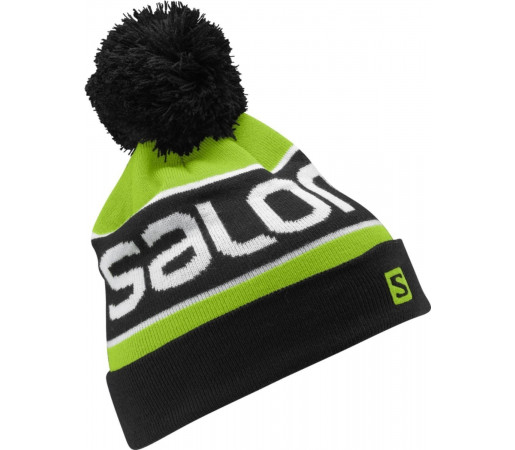 Caciula Salomon Junior Logo Green