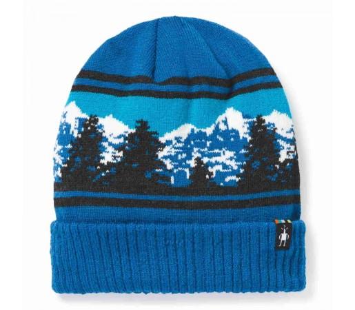 Caciula Smartwool Hill Reversible Beanie Neptune Blue Heather (Albastru)