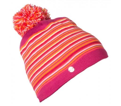 Caciula Spyder Stripes Roz/Multicolor