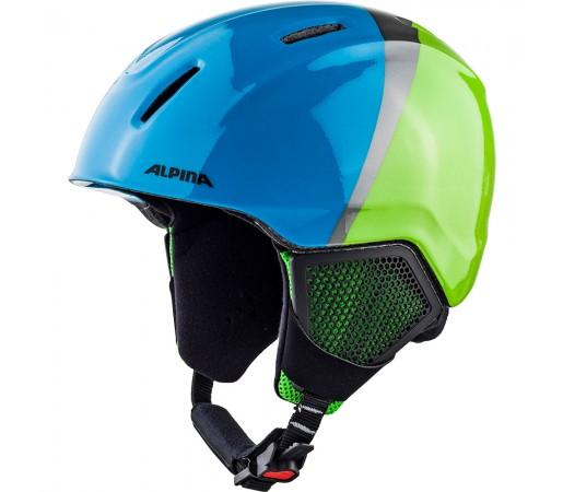 Casca Ski Alpina Carat LX green/blue/grey