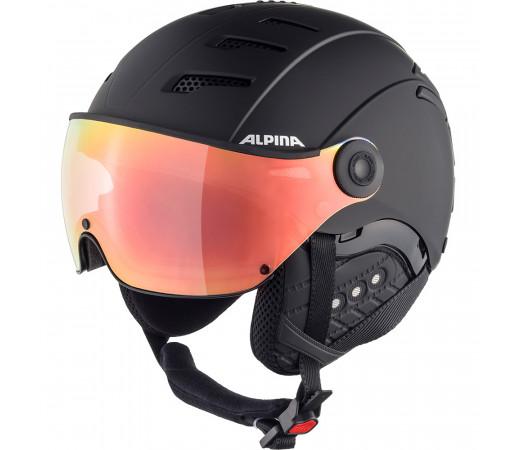 Casca Ski Alpina JUMP 2.0 HM black matt