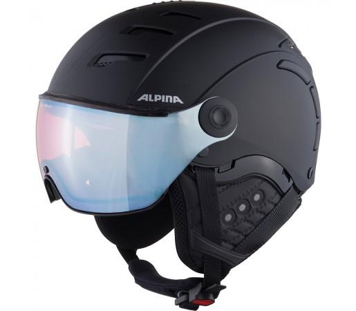 Casca Ski Alpina JUMP 2.0 QVMM black matt/silver