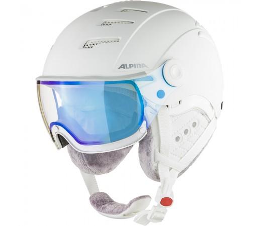 Casca Ski Alpina JUMP 2.0 VM white/white matt