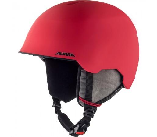 Casca Ski Alpina Maroi JR red/skull matt