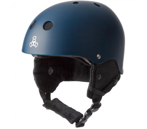 Casca Schi si Snowboard Triple 8 Brainsaver Snow Standard Bleumarin