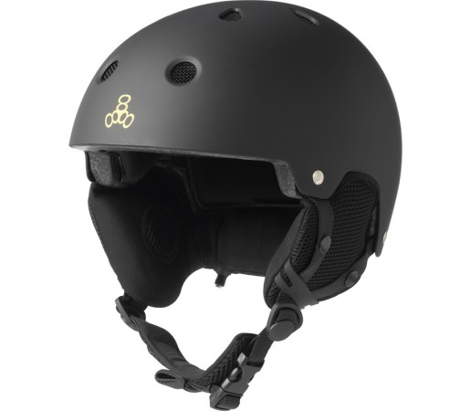 Casca Schi si Snowboard Triple 8 Brainsaver Snow Audio Negru