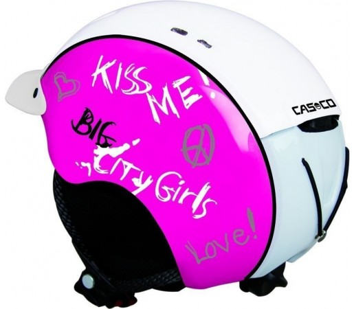 Casca Casco Mini Pro Pink Shinny