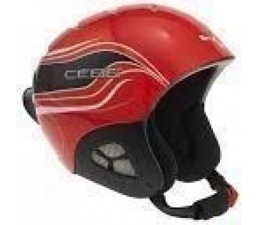 Casca Cebe PLUMA JR BASIC Red