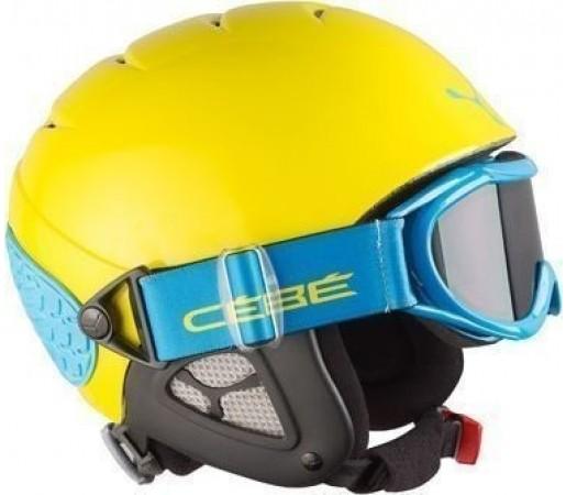 Casca Schi si Snowboard Cebe Twinny Galben/ Albastra