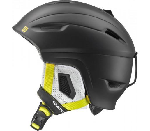 Casca Salomon Ranger Black Matt- Yellow