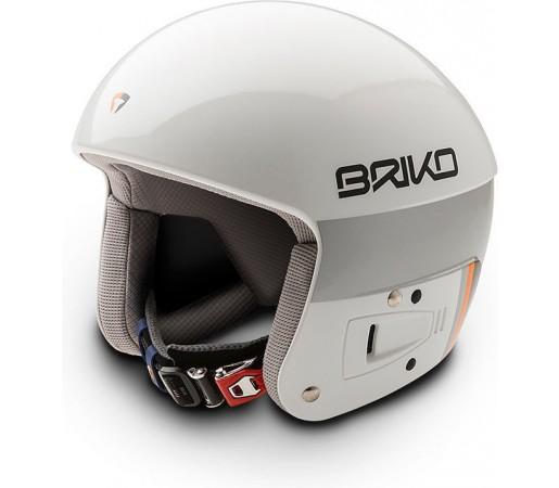 Casca Schi si Snowboard Briko Vulcano FIS 6.8 White