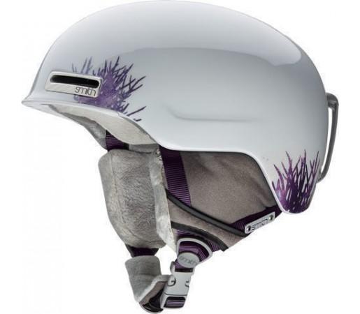 Casca Schi si Snowboard Smith Allure White Tide