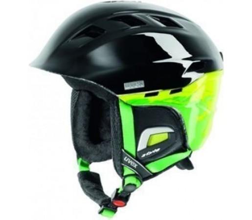 Casca Schi si Snowboard Uvex Comanche II Black- Green