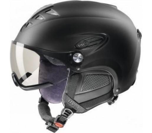 Casca Schi si Snowboard Uvex Uvision Visor Black