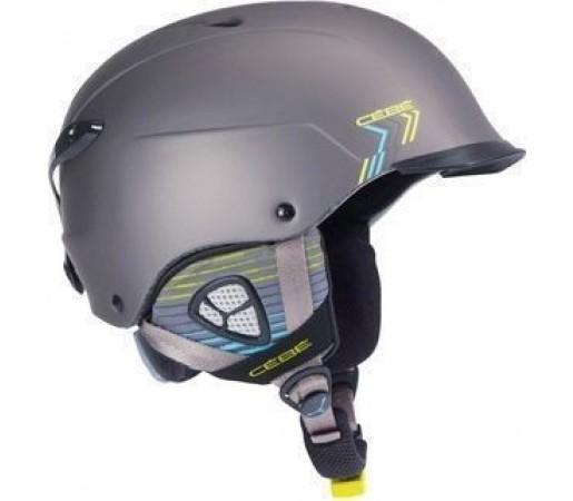 Casca Ski si Snowboard Cebe Contest Visor Matt Grey