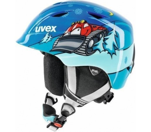 Casca Ski si Snowboard Uvex Airwing II Pro Graphic Blue