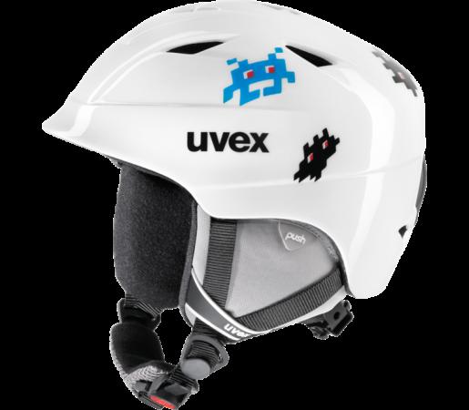 Casca Ski si Snowboard Uvex Airwing II Pro Graphic White