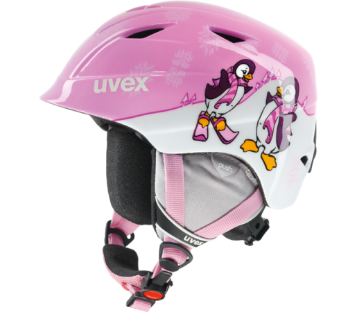 Casca Ski si Snowboard Uvex Airwing II Pro Pink