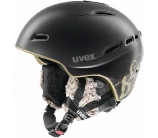 Casca Ski si Snowboard Uvex Hypersonic Pro Black- Gold