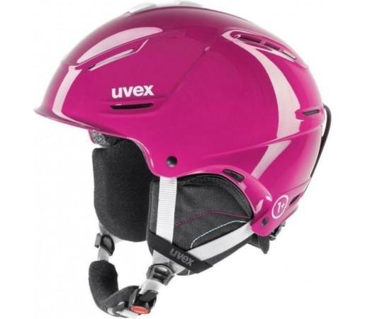 Casca Ski si Snowboard Uvex Pro Shiny Pink