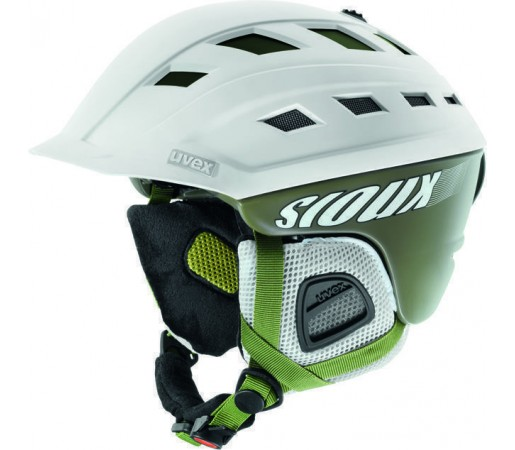 Casca Ski si Snowboard Uvex Sioux White- Green