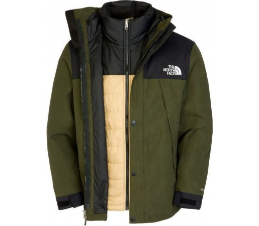 Geaca The North Face M Mountain Triclimate Forest Green