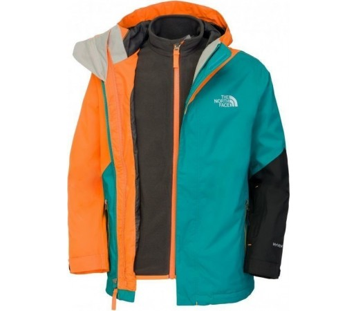 Geaca The North Face B Snow Alert Triclimate Fanfare Green