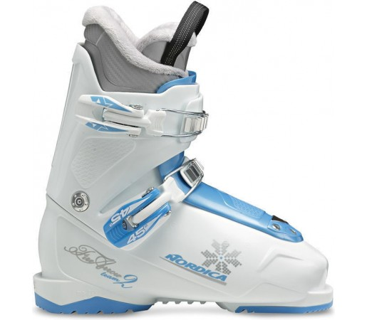 Clapari de Ski Nordica Firearrow Team 2 White- Blue