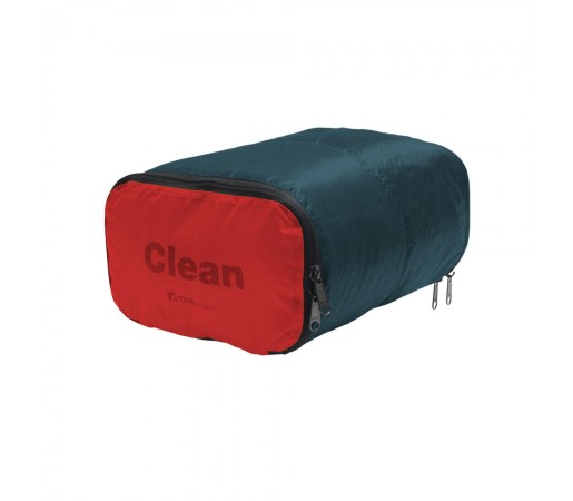 Sac Trekmates Clean/Dirty Negru / Rosu