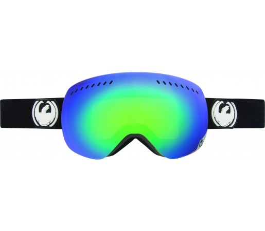 Ochelari Schi si Snowboard Dragon APXS Coal Negru / Green Ion