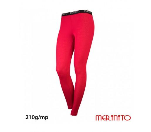 Pantaloni First Layer Merinito Rib Pointelle 100% Merinos 210g W Roz