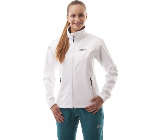 Geaca Nordblanc Common Ladie's Softshell Jacket Alb