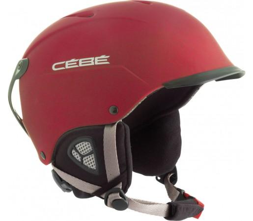 Casca Cebe Contest Visor Mat Red 2013