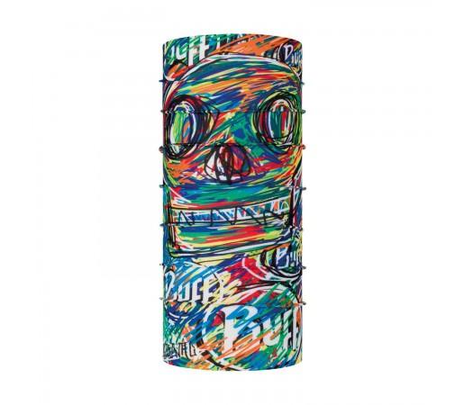 Neck Tube Unisex Buff Coolnet UV+ Junior Salqin Multi (Multicolor)