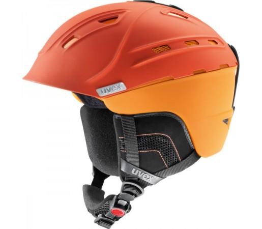 Casca Schi si Snowboard Uvex P2us WL Portocalie