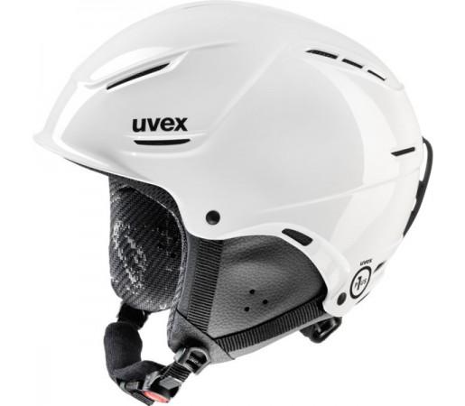 Casca Schi si Snowboard Uvex P1us Junior Alba