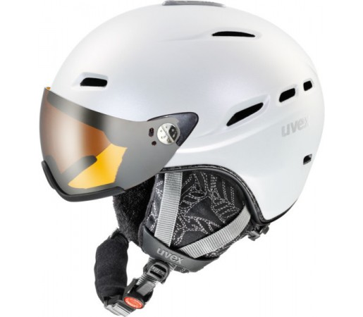Casca Schi si Snowboard Uvex Hlmt 200 WL Alba