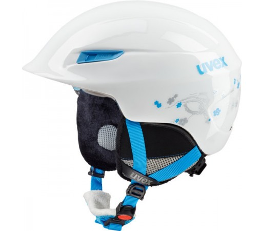 Casca Schi si Snowboard Uvex Gamma WL Alba/Turcoaz