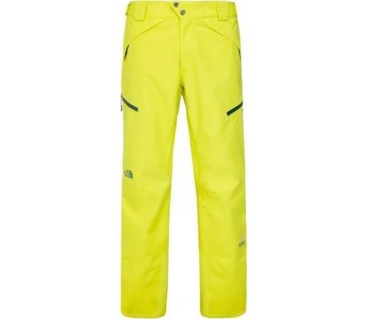 Pantaloni Schi si Snowboard The North Face M NFZ Yellow Green