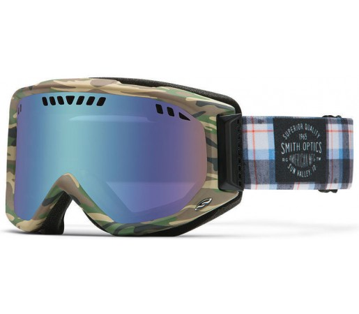 Ochelari Schi si Snowboard Smith SCOPE PRO Cyprus Plammo / Blue Sensor mirror