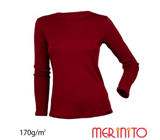 Bluza First Layer Merinito Dama Visinie