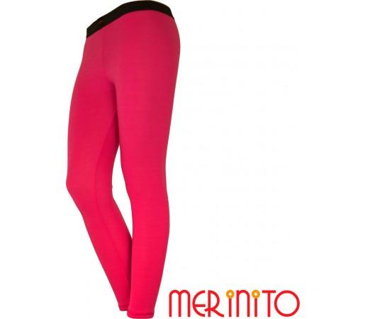 Pantaloni First Layer Merinito Dama Roz