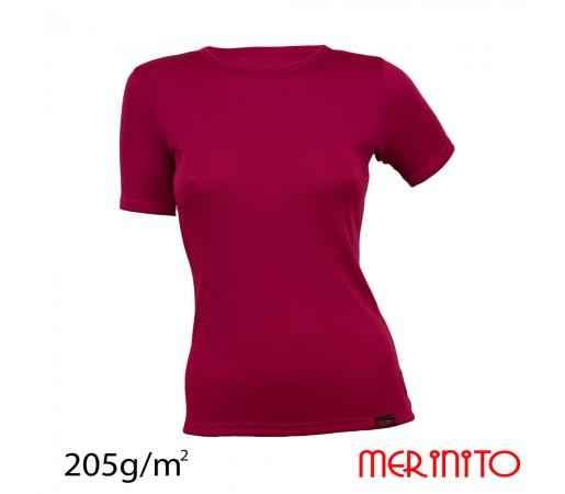 Tricou Merinito Dama Rosu