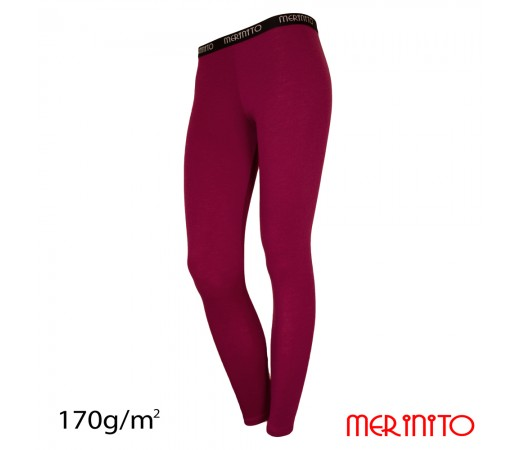 Pantaloni First Layer Merinito 100% Merinos 170g W Mov