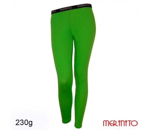 Pantaloni First Layer Merinito Merinos 230g/240g W Verde
