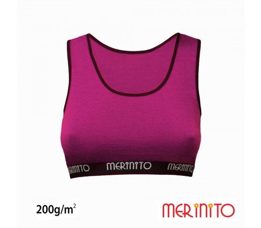 Bustiera Merinito 100% Merinos 200g W Mov