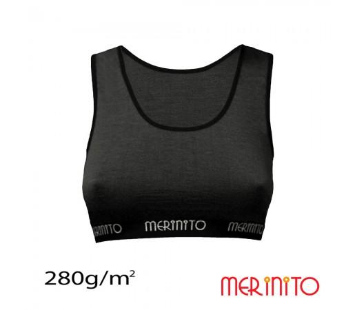 Bustiera Merinito 100% Merinos 280g W Gri