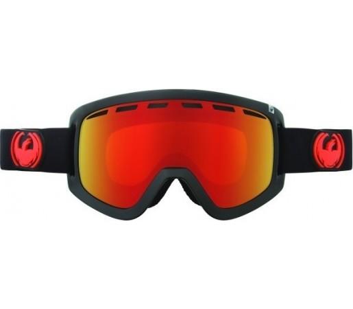 Ochelari Schi si Snowboard Dragon D1 Jet  / Red Ion + Yellow Blue Ion