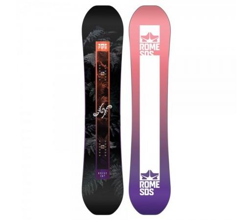 Placa Snowboard Unisex Rome Heist 151 Multicolor