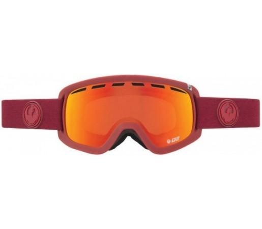 Ochelari Schi si Snowboard Dragon D2 Epoch Heather / Red Ion + Yellow